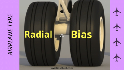 Aircraft Radial vs Bias Tyre