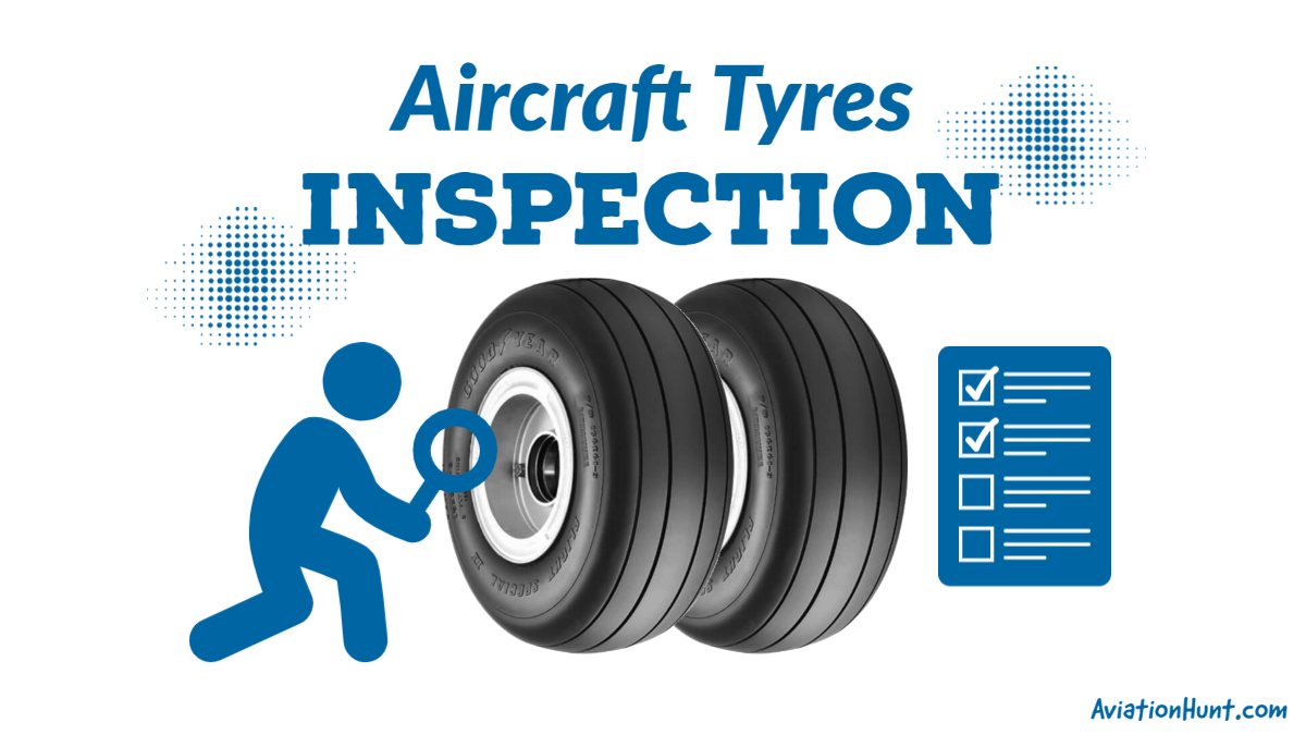 Aircraft Tyres | Inspection and Care