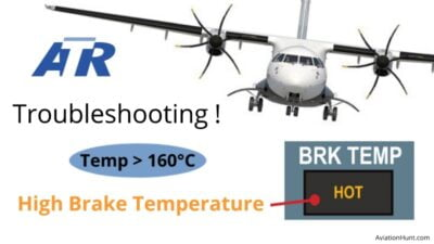 Read more about the article How to Troubleshoot High Brake Temperature in ATR 72
