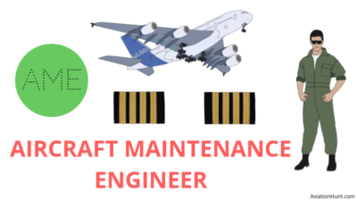 The role of an Aircraft Maintenance Engineer