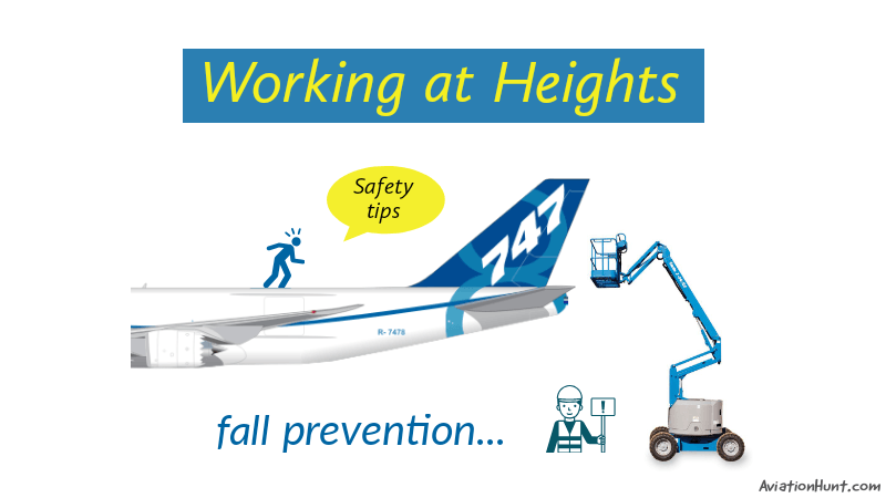 Working at heights | Preventing falls from heights