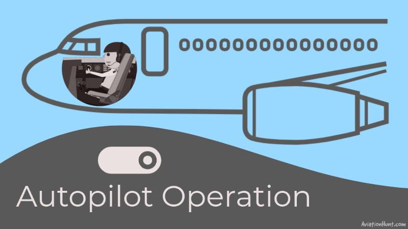 How autopilot controls the aircraft
